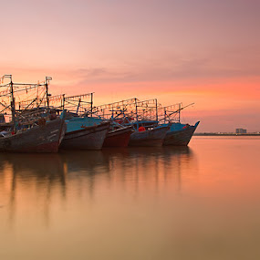 by Muhamad Aris - Transportation Boats