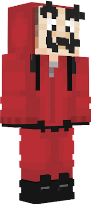 Skin Made By Kyvaun, with backpack