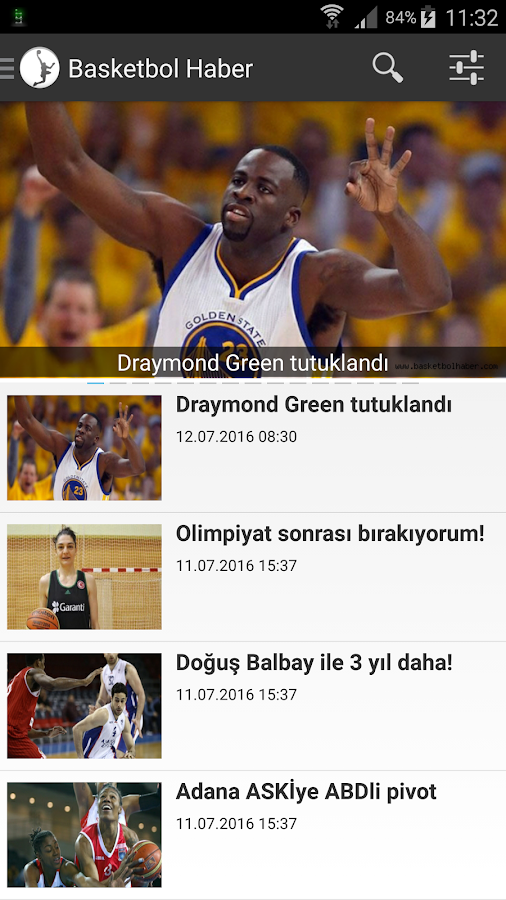 Basketbol Haber- screenshot