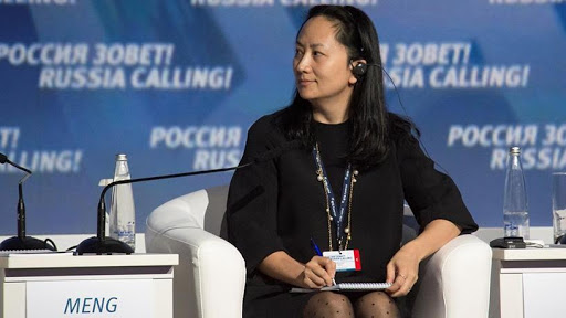 Huawei CFO Meng Wanzhou.