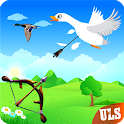 Real Duck Archery 2D Bird Hunting Shooting Game icon