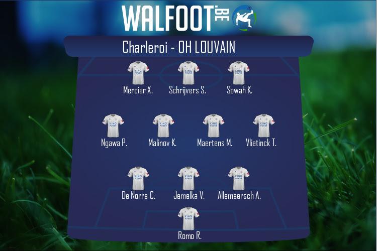 OH Louvain (Charleroi - OH Louvain)