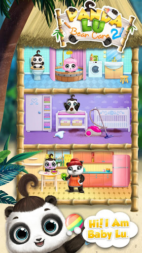 Panda Lu Baby Bear Care 2 - Babysitting & Daycare  screenshots 2