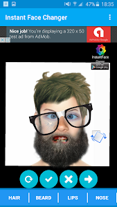 Face Changing - InstantFace screenshot 1