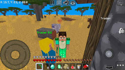MultiCraft u2015 Build and Survive! ud83dudc4d 1.9.0 screenshots 1