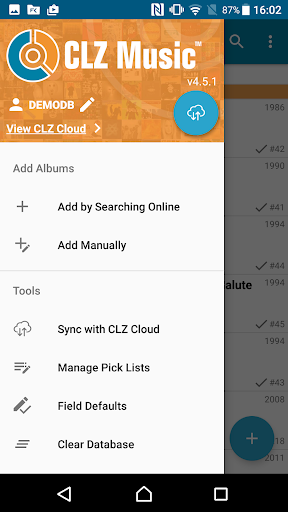 CLZ Music - Music Database 4.8.1 screenshots 1