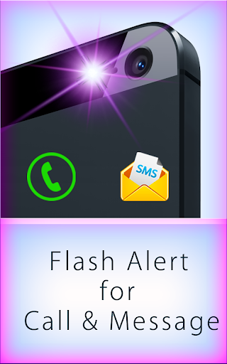 Flash Alert for Call Message