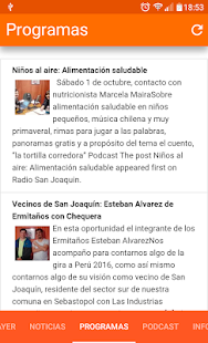 Radio San Joaquin Chile- screenshot thumbnail