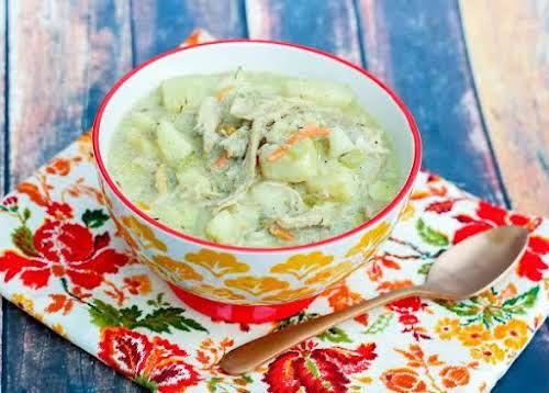"""Creamy Turkey Soup, Leftover Special """"Oh My goodness. I made this soup...."""