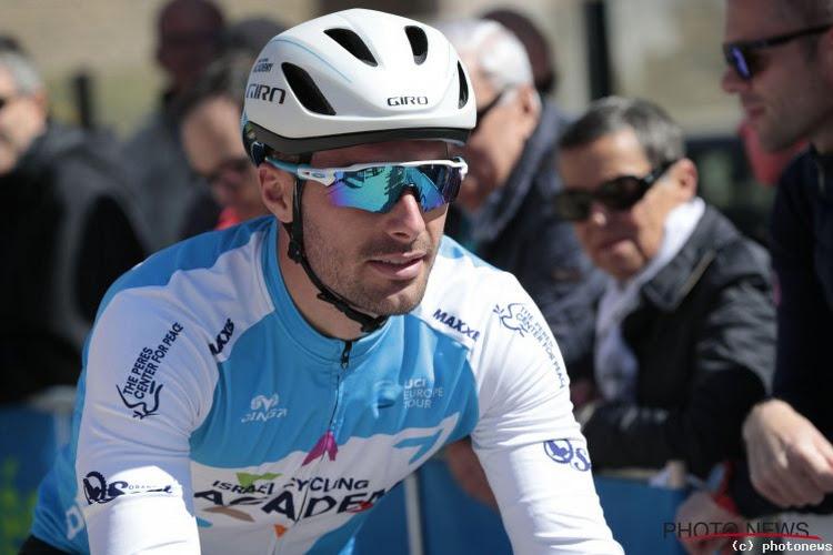 Geen Rudy Barbier meer in de Giro