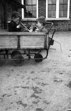 Photo: John Long and Friend at Wateringbury School