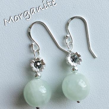 Morganite (摩根石) Earrings