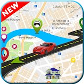 GPS Driving Route Finder Maps: Live Earth View