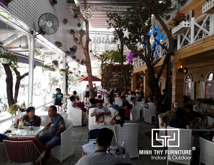 ban ghe cafe san vuon, ghe may nhua minh thy furniture