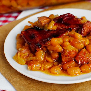 Judy's Baked Beans.