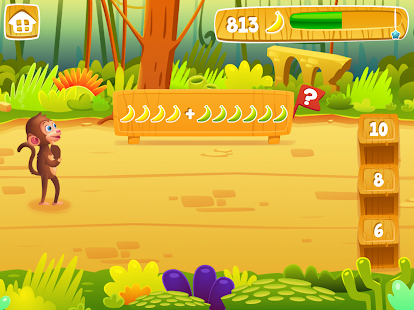 Math Jungle : Kindergarten- screenshot thumbnail