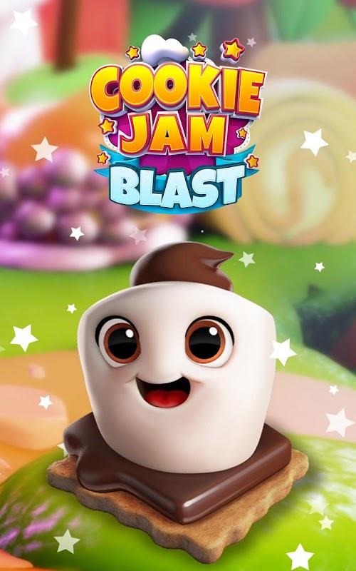 Screenshot 1 Cookie Jam Blast - Match & Crush Puzzle 3.90.126 APK MOD
