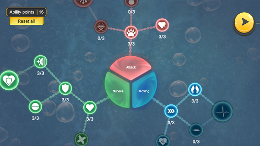 World of Microbes: Spore Evol  screenshots 5