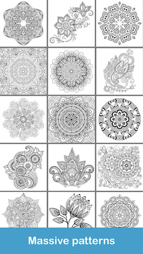 100+ Mandala coloring pages  screenshots 8