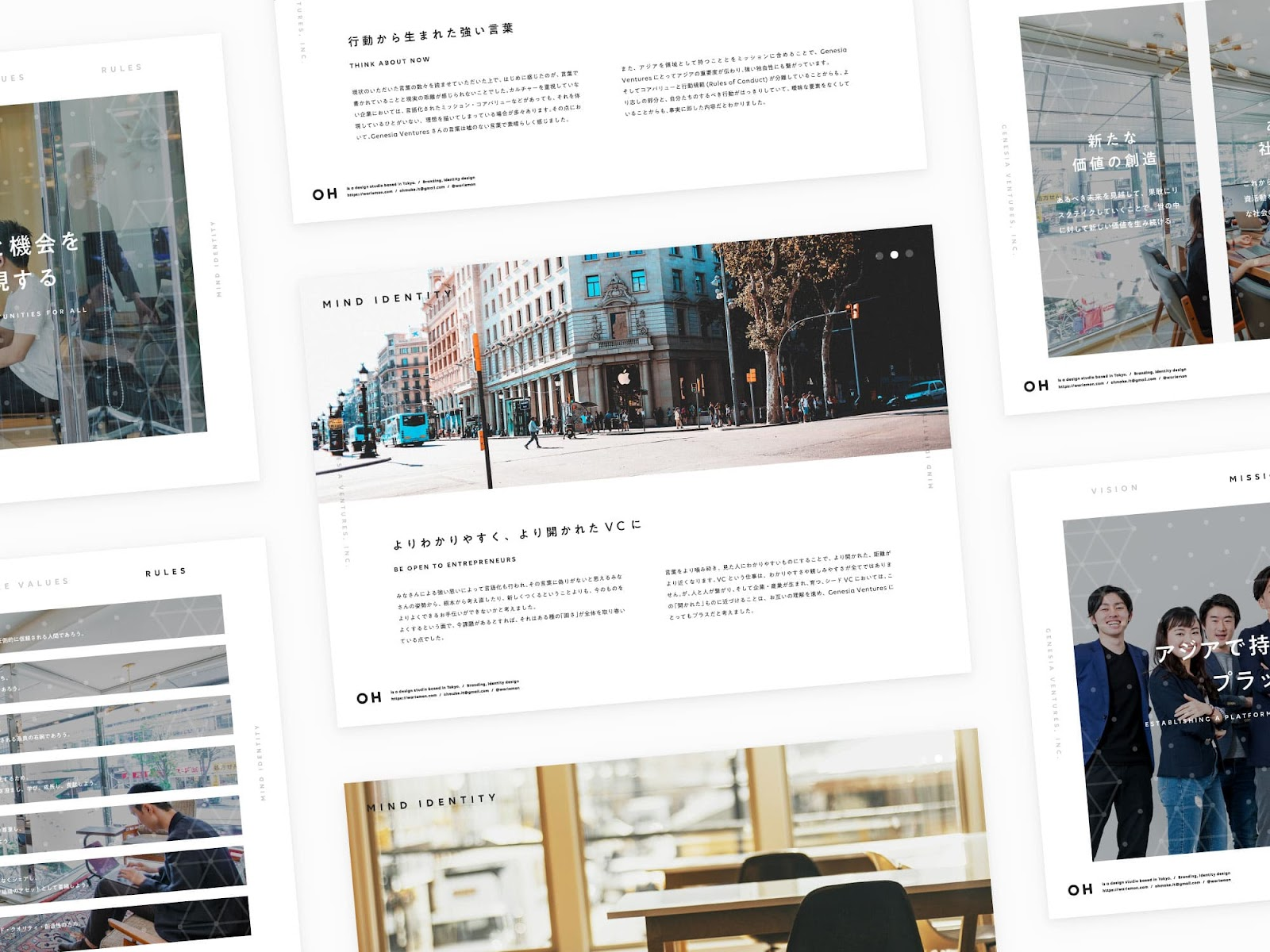 アジアを対象に投資をする『Genesia Ventures』 のプレゼンテーション資料