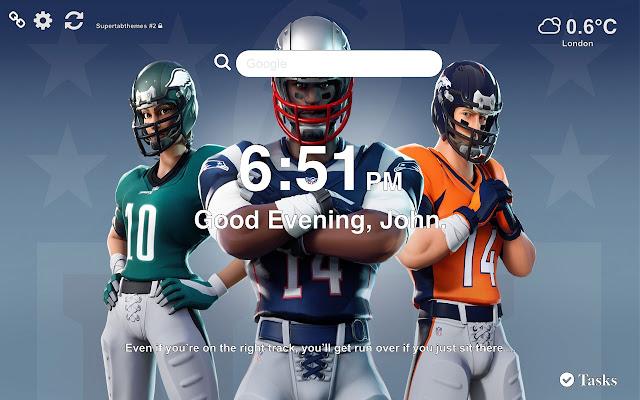 NFL Fortnite HD Wallpapers New Tab