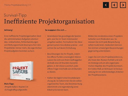 Projekt-Safari – Miniaturansicht des Screenshots