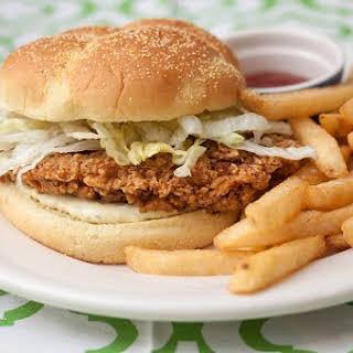 Crispy Chicken Sandwich.