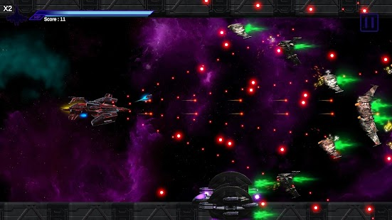 Space Shooter : AsaP Bullet Hell Red Screenshot