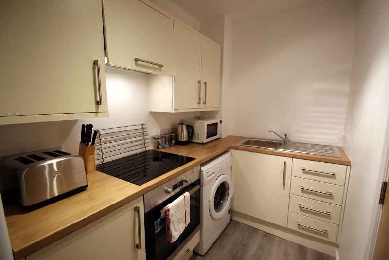 Fully equipped kitchen at West House