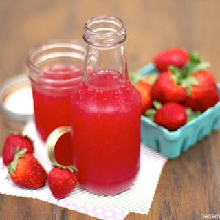 Healthy Sugar-Free Strawberry Syrup.