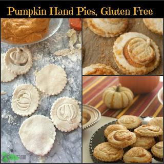 Gluten Free Pumpkin Pie Hand Pies