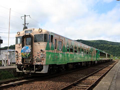 JR北海道 観光列車「風っこそうや」 音威子府にて_02