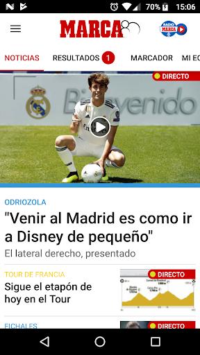 MARCA - Diario Lu00edder Deportivo 6.3.30 screenshots 1
