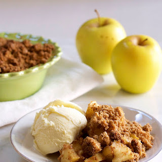 Easy Apple Crisp for Two