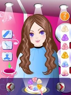 Happy Hairdresser Game - náhled