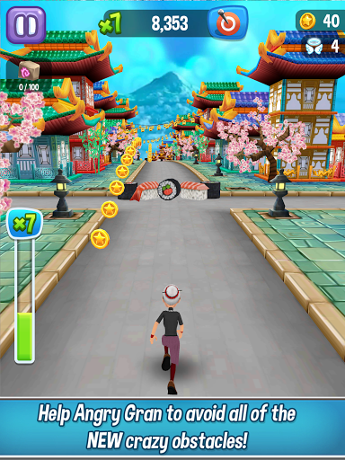 Angry Gran Run - Running Game apktram screenshots 10