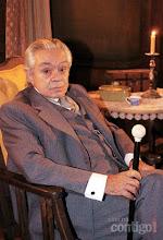 Photo: Em 2006, Chico Anysio voltou a trabalhar para a TV Globo e fez parte do elenco da novela Sinhá Moça. Na trama, Chico deu vida ao personagem Everaldo, um abolicionista de caráter duvidoso.   O humorista ficou afastado da emissora durante sete anos, sendo o último trabalho em 1999, em Terra Nostra