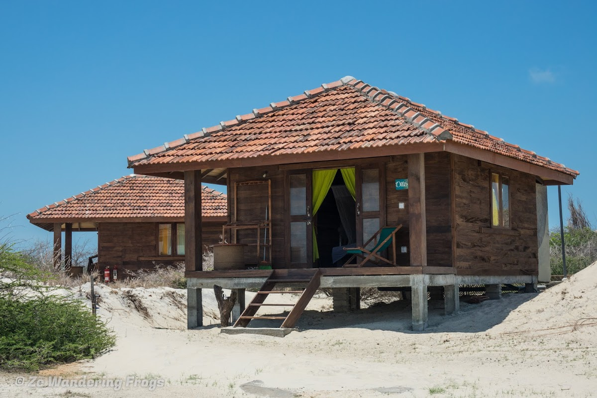 Sri. Lanka Mannar Vayu Resort. Bungalow by the dunes