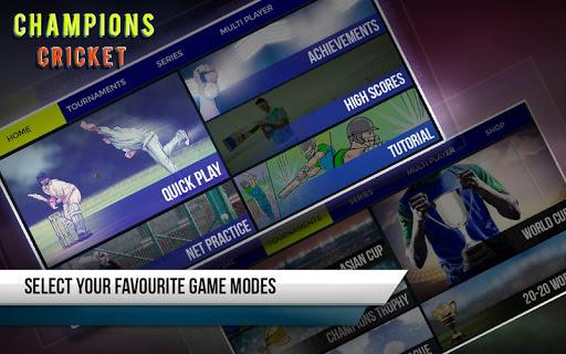 Champions Cricket 1.6.7 screenshots 1