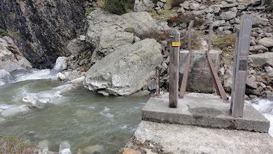 Photo: Pont dangereux avant le refuge de la Soula