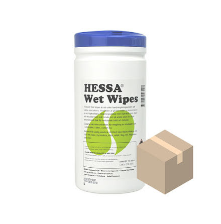 Wet Wipes 10x75 st