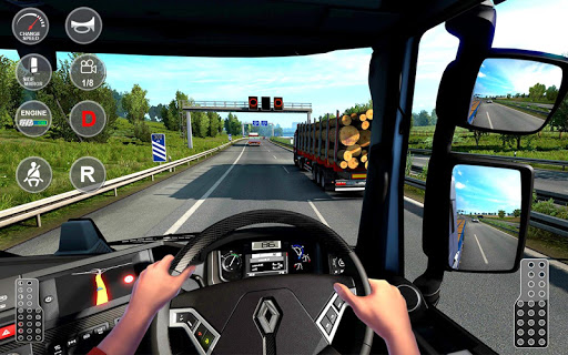 Euro Truck Transport Simulator 2: Cargo Truck Game screenshots 3