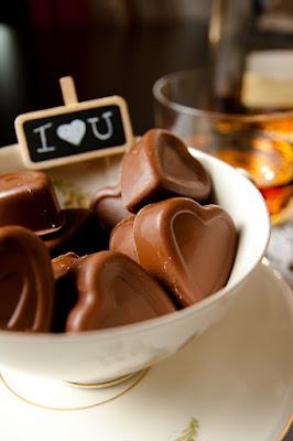 Cuore di cioccolato di mattia pellegrini