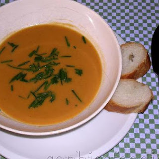 Spiced Sweet Potato & Coconut Soup