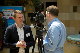 Photo: Nikita Fahrenholz, CEO and co-founder of Book a Tiger, is interviewed