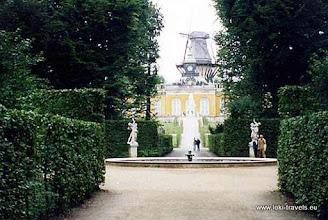 Photo: Potsdam. Sanssouci.