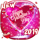 Valentines Day Live Wallpaper  Love Background icon