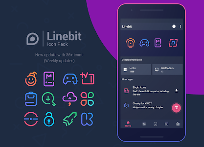 Linebit - Icon Pack 1 2 5 (Patched) APK for Android