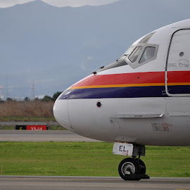 md 80  by Paolo Marras - Transportation Airplanes ( plane, md 80, jet )