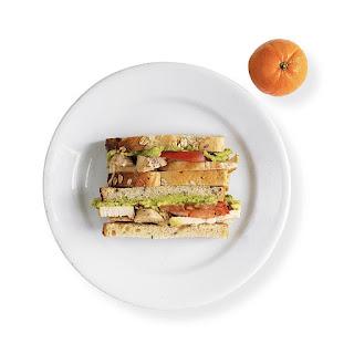Avocado, Tomato & Chicken Sandwich